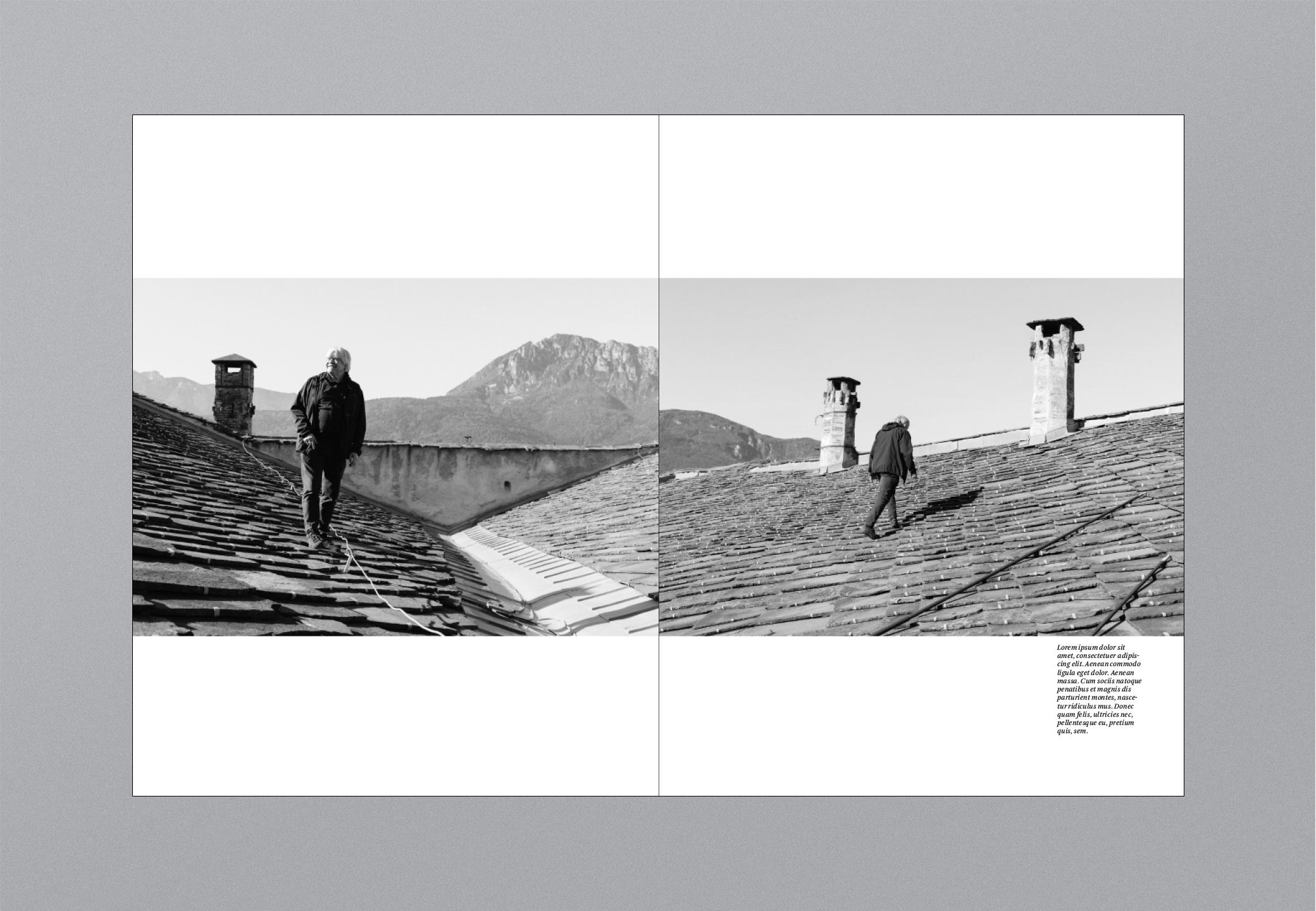 Castello Bildband Dach