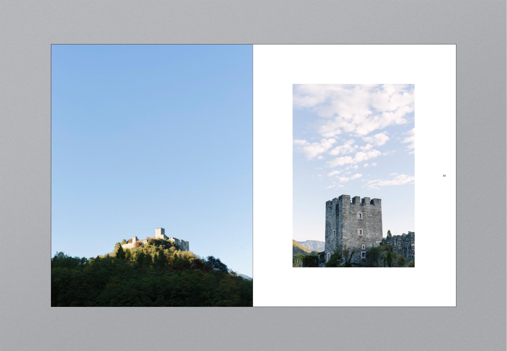 Castello Bildband Distanz