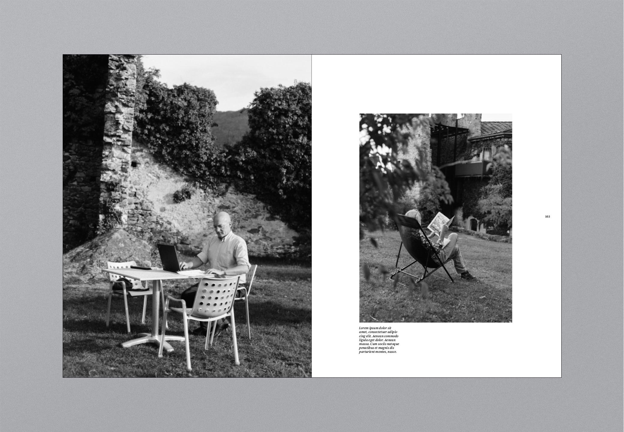 Castello Bildband Garten