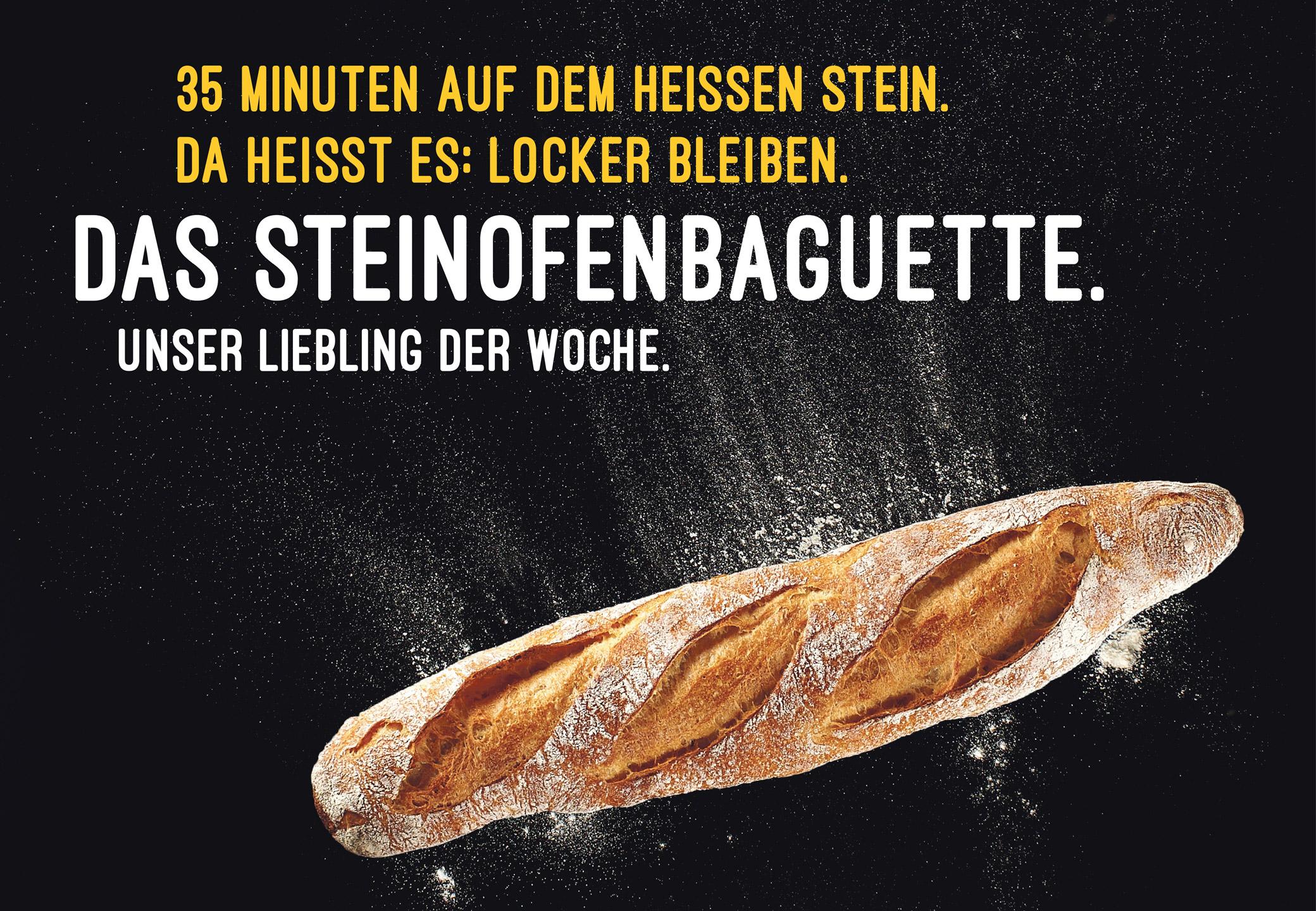 Bäckerei Mareis Plakat Baguette
