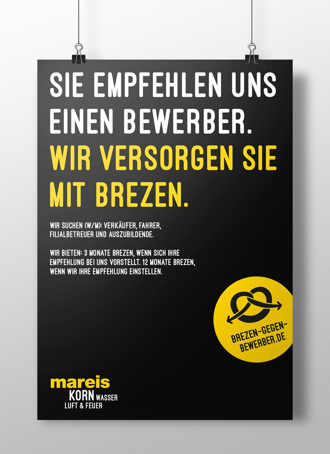 Plakat Bäckerei Kampagne