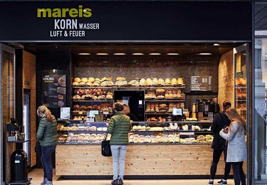 Interoir Design Bäckerei Mareis Komplettansicht