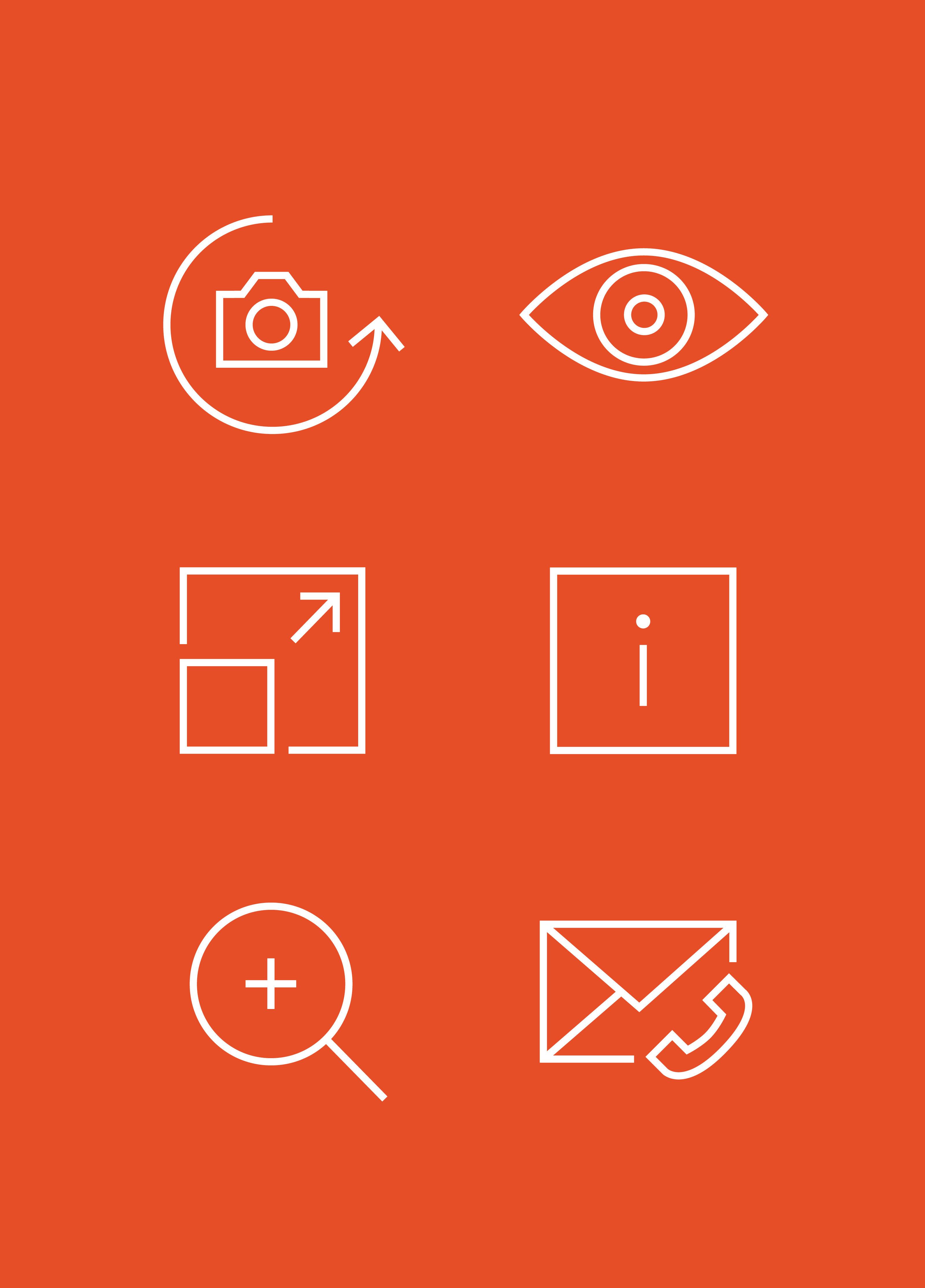 Icons bzw. Grafiken von Finstral