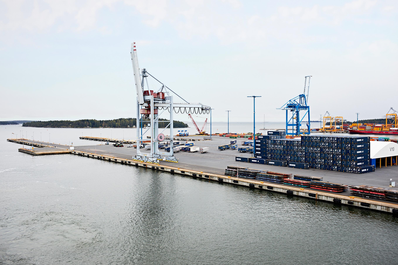 Finnlines Hafen Krähne