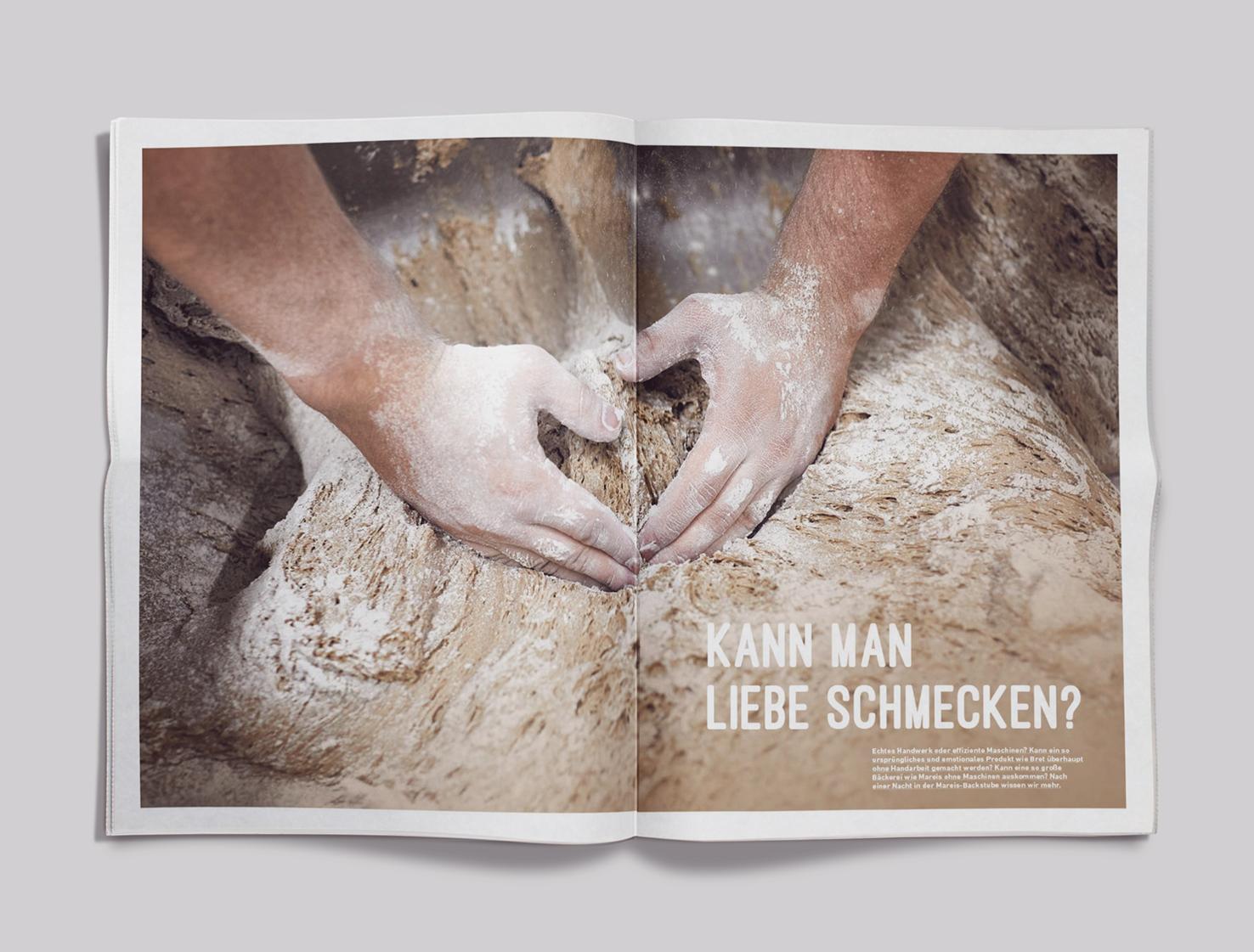 Kundenzeitung Bäckerei Mareis Artikel