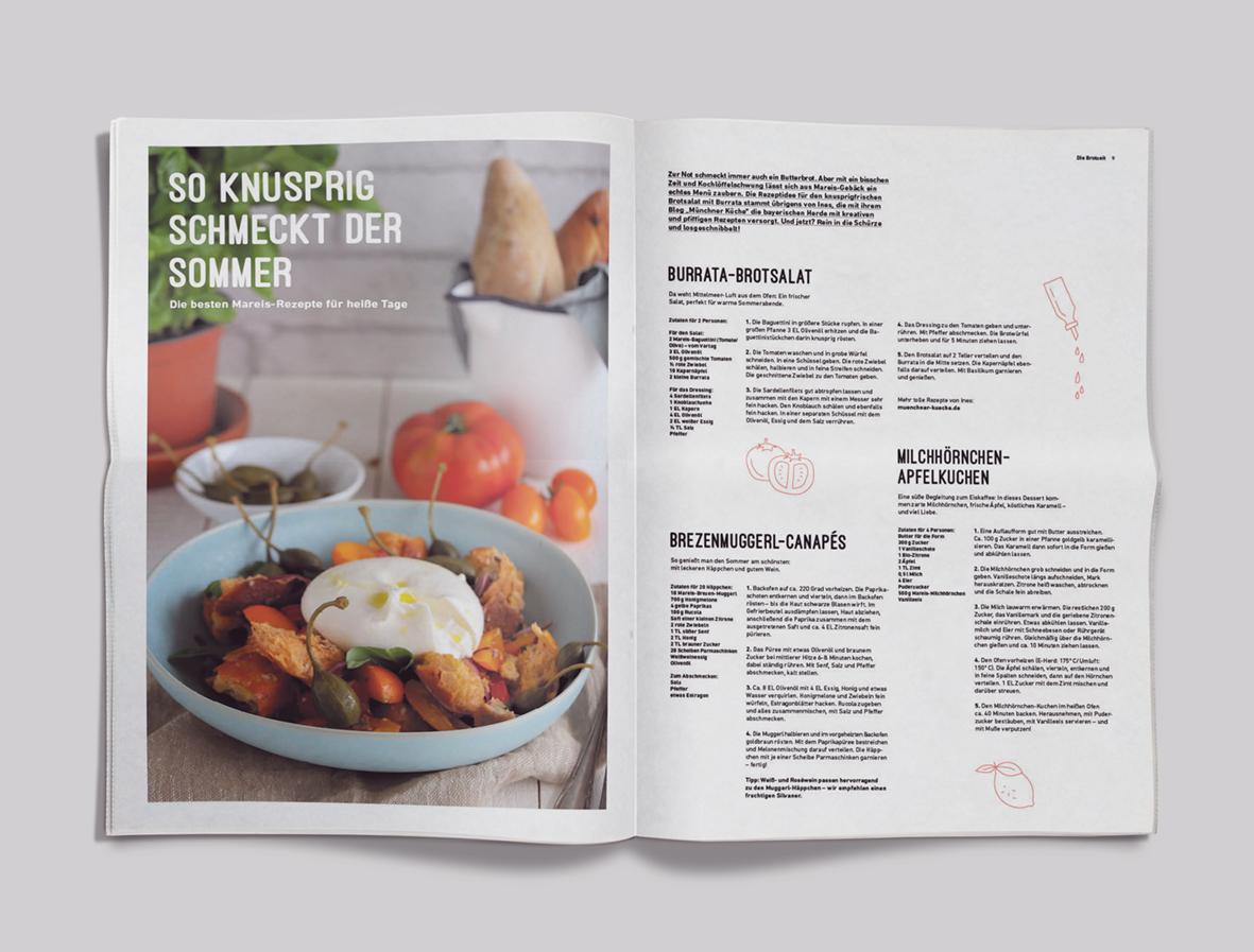 Kundenzeitung Bäckerei Mareis Rezepte