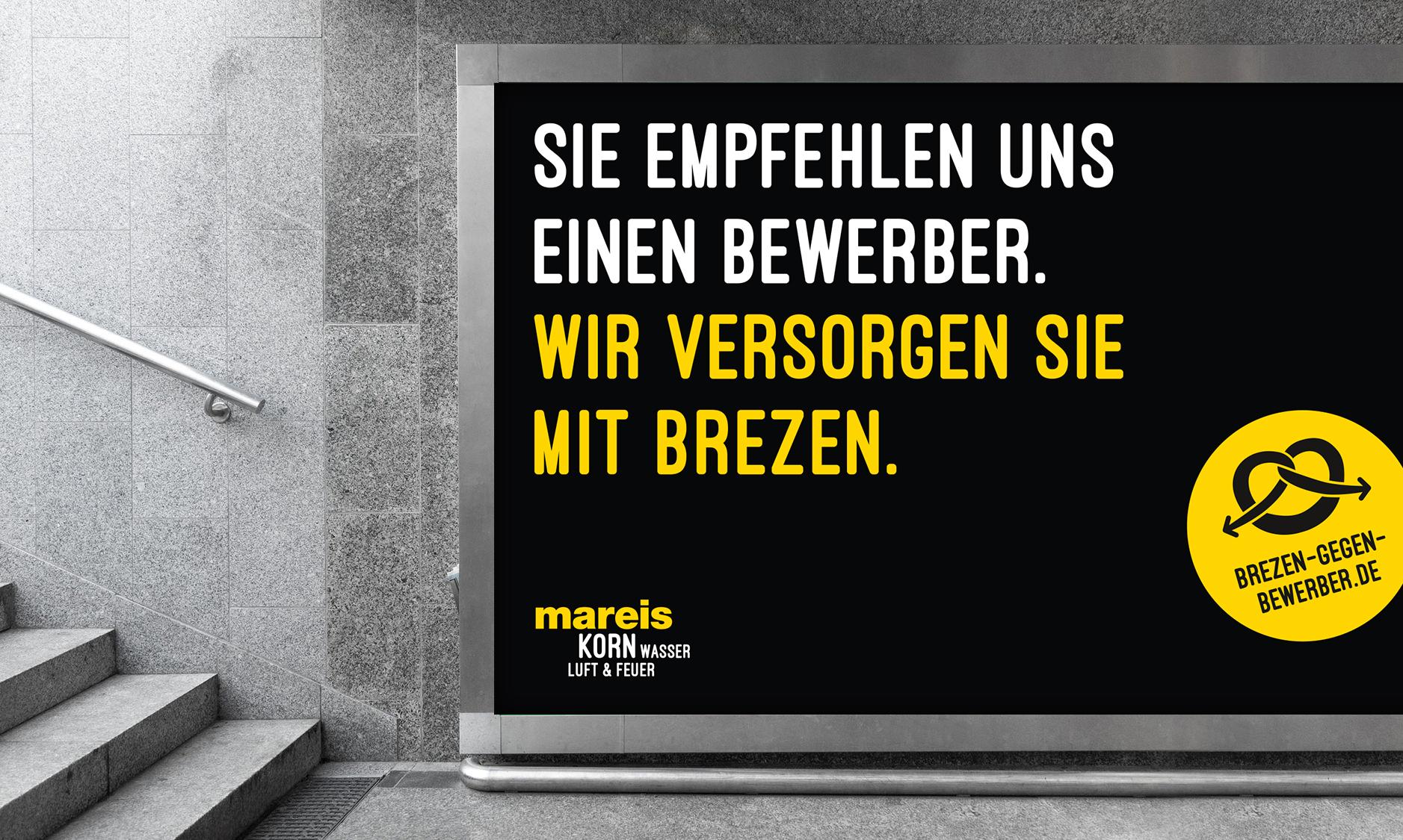 Bäckerei Kampagne Brezen-gegen-Bewerber
