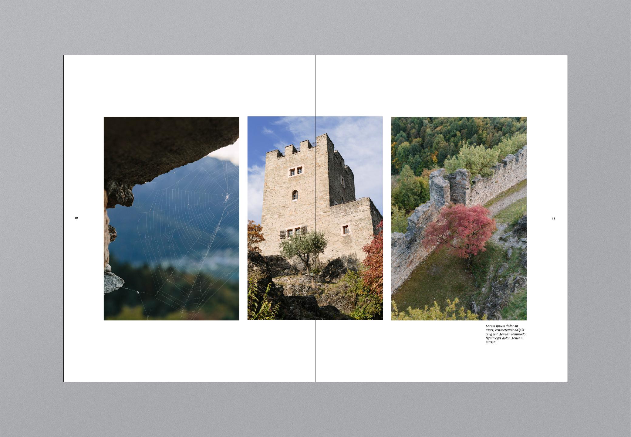 Castello Bildband Turm