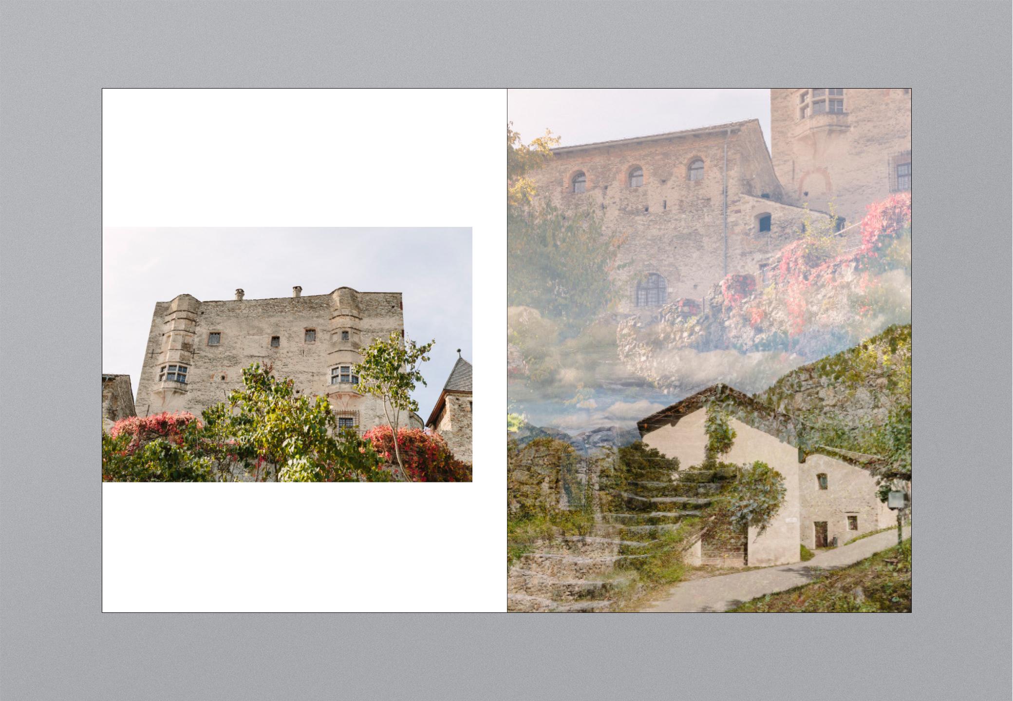 Castello Bildband Aussenansicht