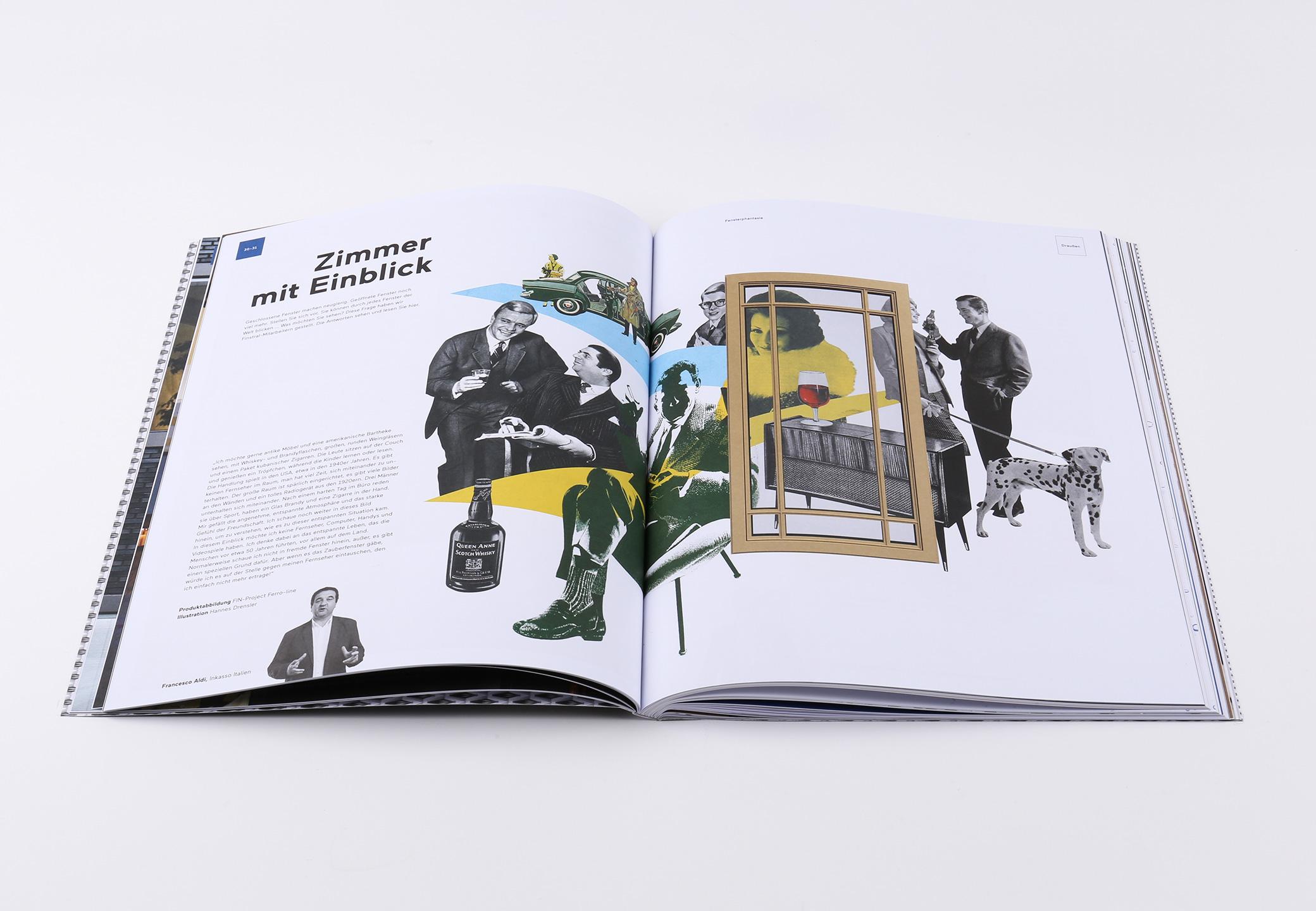 F_01 Magazin Finstral Editorial Design