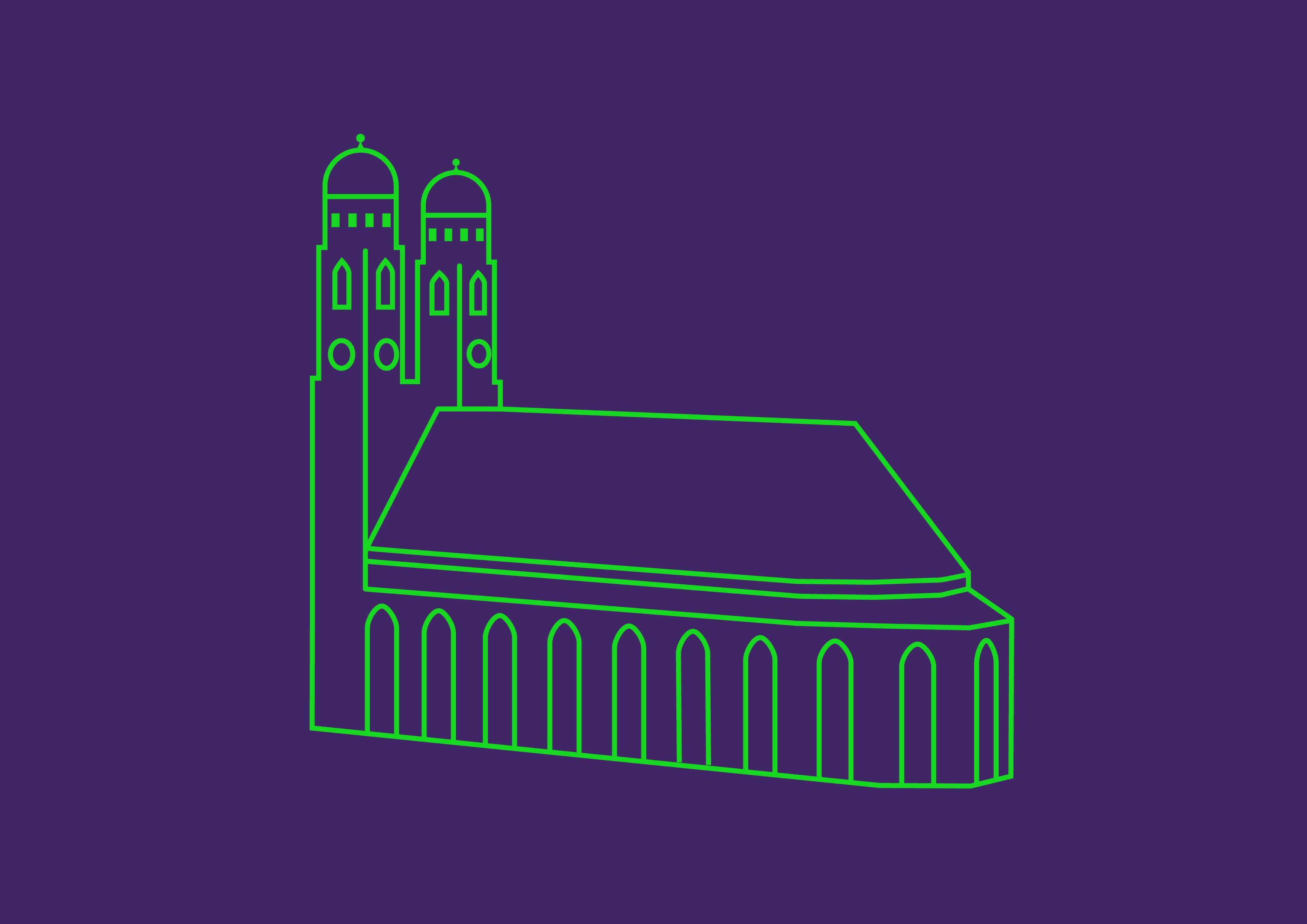 Grafik_Vernetzung_isabelhuberdesign_frauenkirche_lila